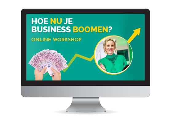 Hoe nu je business boomen