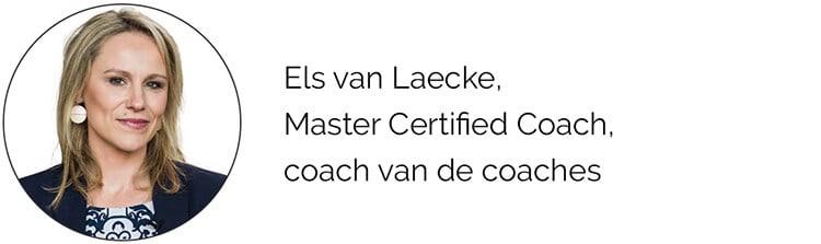Els van Laecke, Master Certified Coach, coach van de coaches
