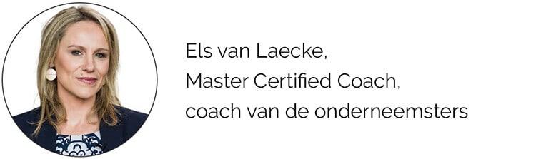 Els van Laecke, Master Certified Coach, coach van de onderneemsters