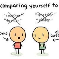 Stop met jezelf te vergelijken met anderen